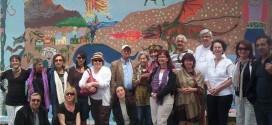 Banu Theis Baydur ile Duvar Boyama