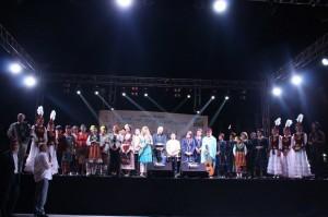 Fethiye dünya muzikleri şenliği kapanış fotoğrafı